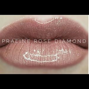 Praline rose Diamond lipsense.